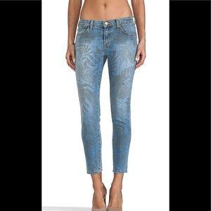 Current Elliott the stiletto jungle skinny jeans